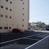 写真:駐車場完成